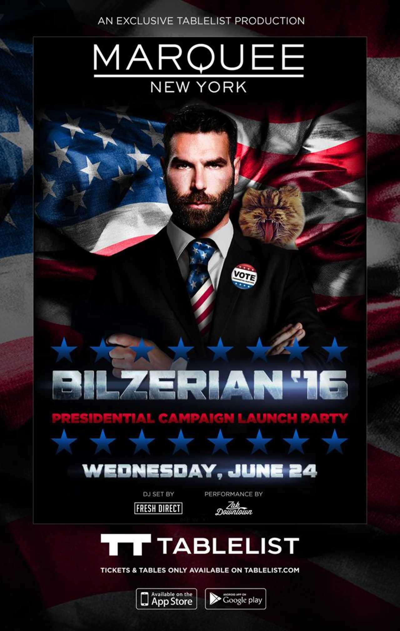 Featured image for #KingOfInstagram, Dan Bilzerian Is Running For President