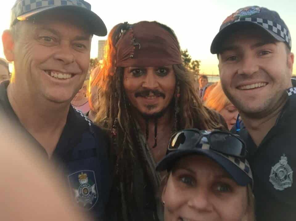 Featured image for Johnny Depp Pays A Visit To Queensland Dressed As Jack Sparrow
