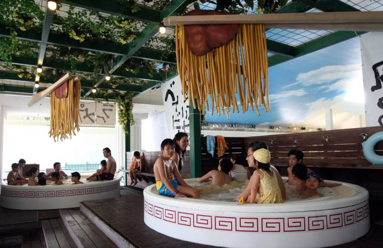 Featured image for New Spa Service Has People Bathing In Ramen