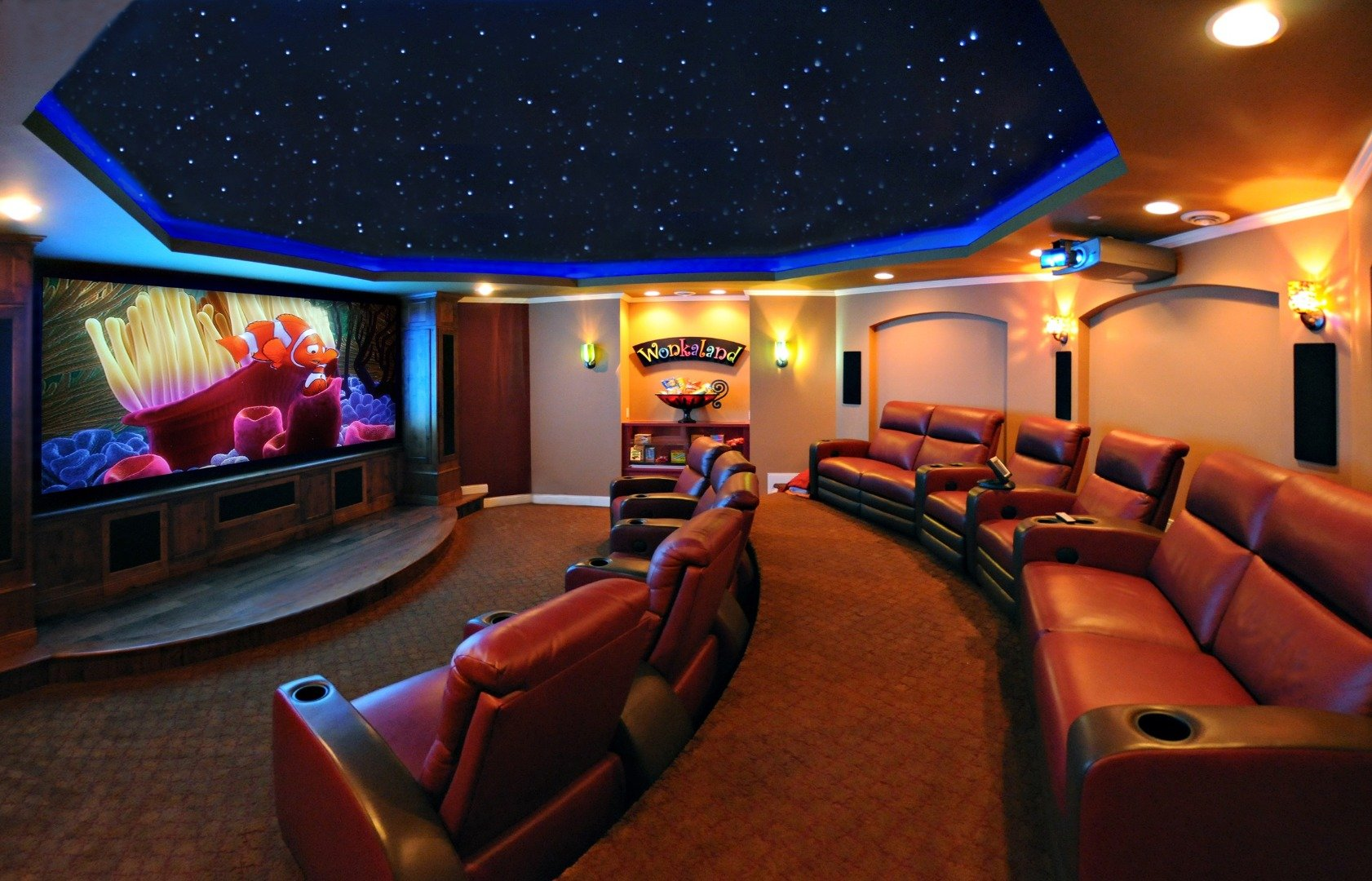 Image Gallery Movie Rooms In Houses