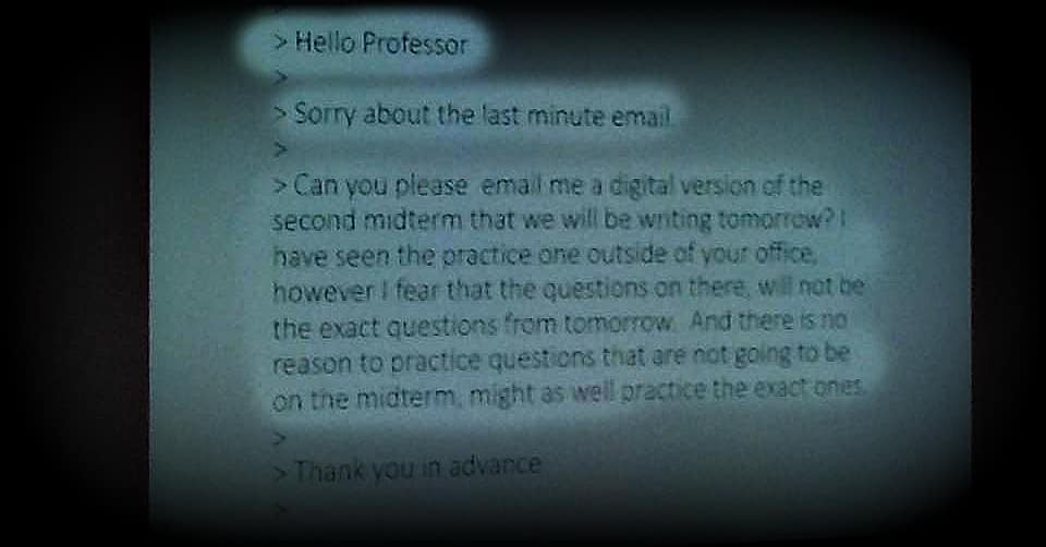 Featured image for Professors Reveal the Funniest Emails They've Gotten from Students