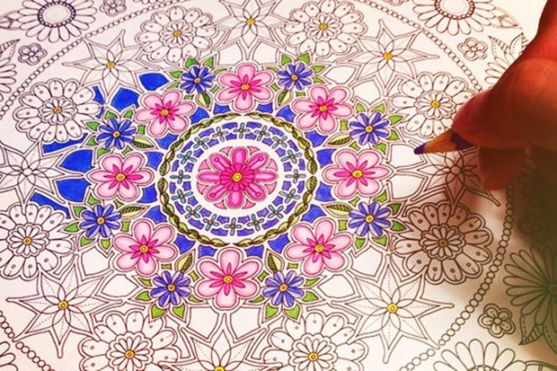 Adult Coloring Books Are The New Stress Busters [Video]