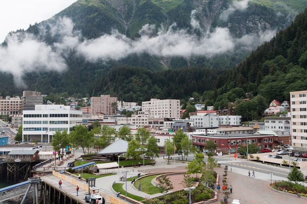 The city of Juneau, Alaska