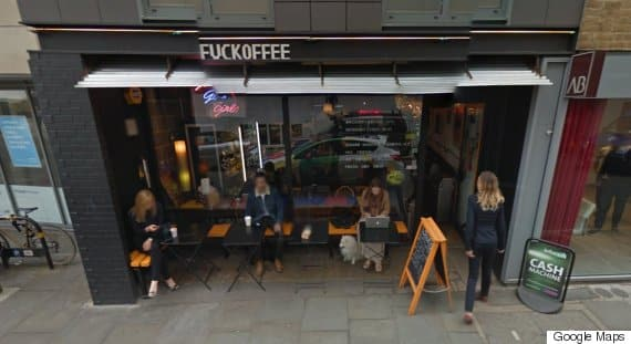 London Cafe with F Word in Name Told to Take Down Signage