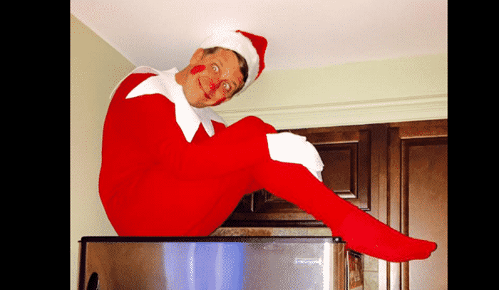 Meet Fle The Real Life Elf On The Shelf