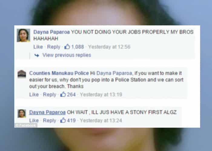 Featured image for Wanted Woman Hilariously Trolls Police Officers On Facebook