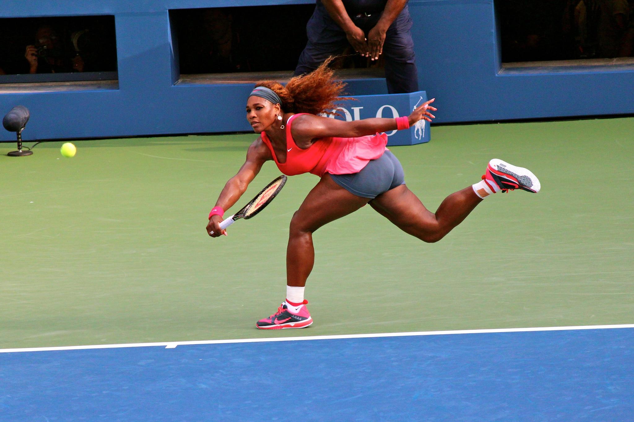 Serena williams pregame twerk rare footage 9