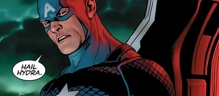 Featured image for Captain America is With Hydra?! Fans and Chris Evans Respond