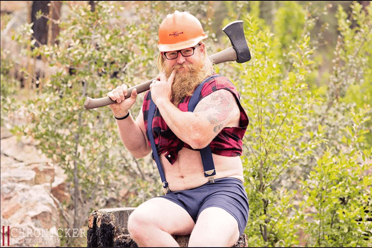 "Featured image for The 'Whimsical Woodsman"" Will Give You All the Lumberjack Feels"