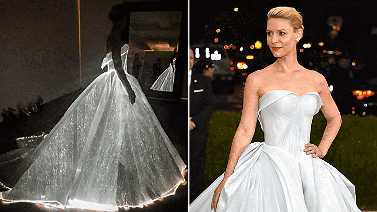 Claire Danes Lights Up Met Gala Night In Led Dress