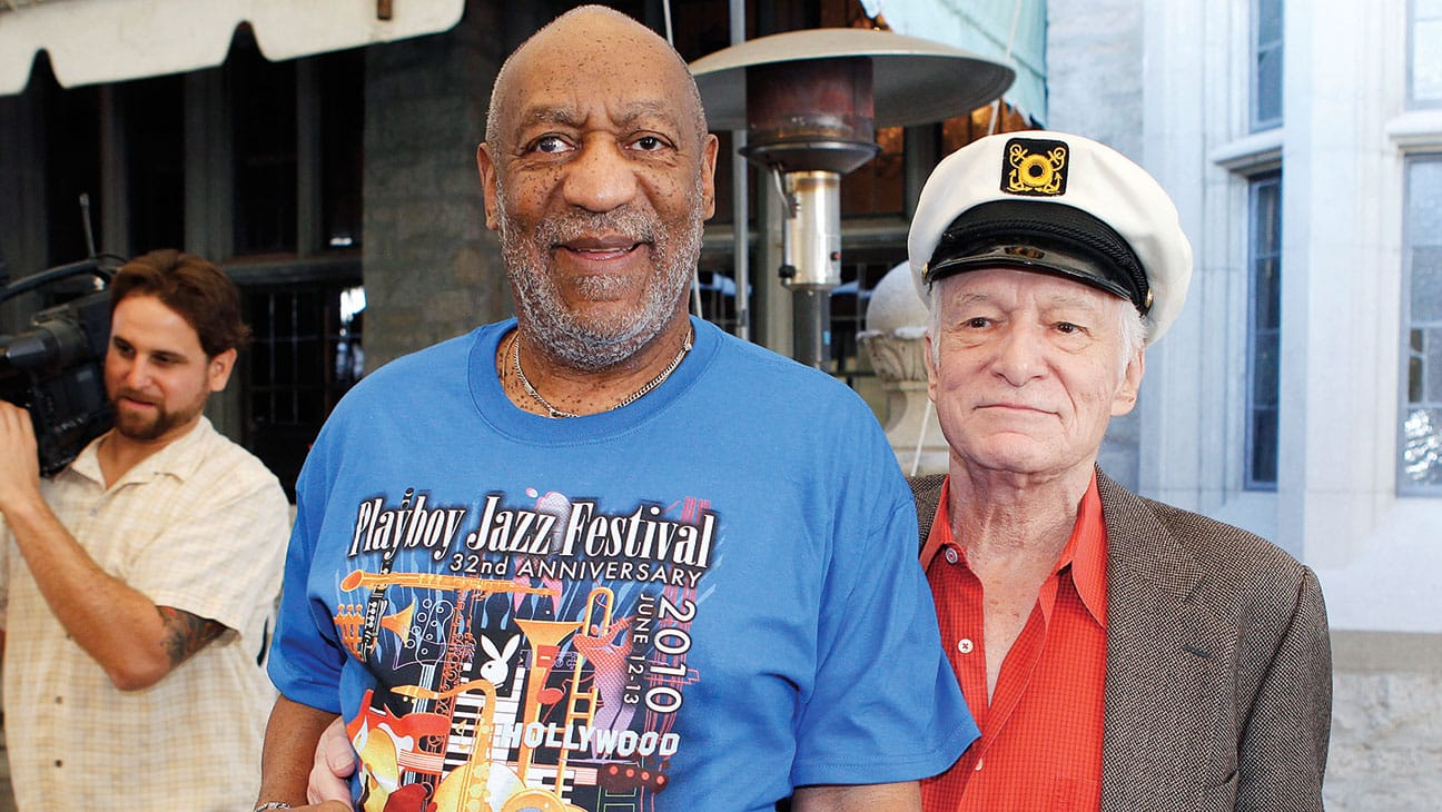 Featured image for Playboy Founder Hugh Hefner Gets Involved With Cosby Rape Case
