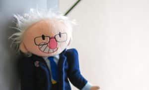 Bernie Sanders plushie giveaway