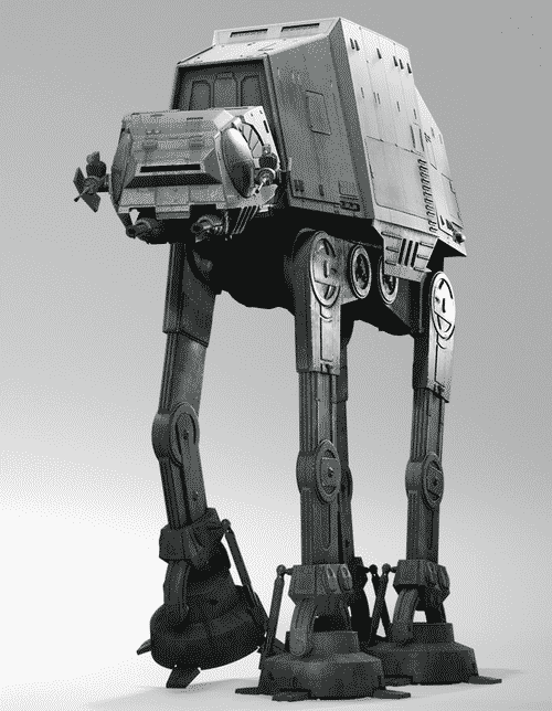 Hey star war fans here 39 s how you can build a real life at at - Lego star wars tb tt ...