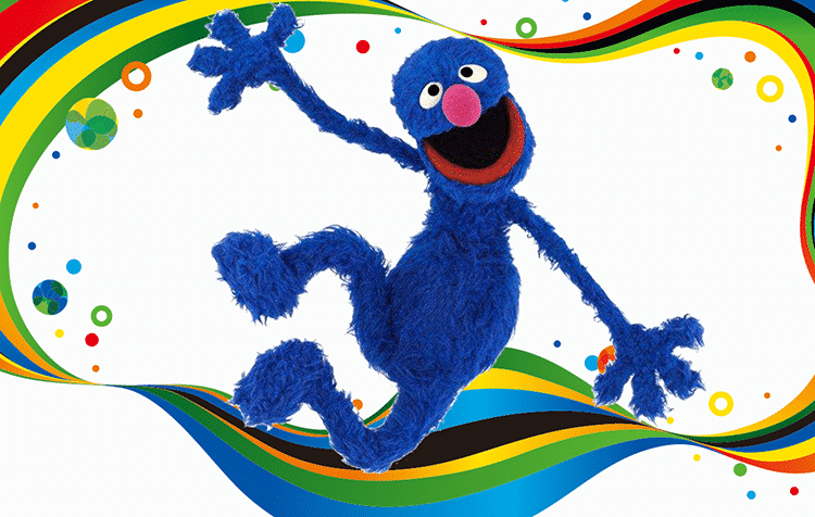 Featured image for Grover and More Fans Cheer for Team Refugee in the 2016 Olympics