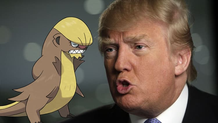 Featured image for Does This New Pokemon Look Like Donald Trump?