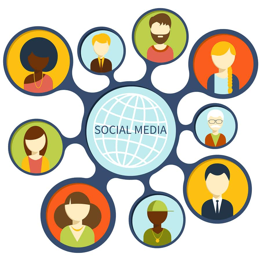 Names and Faces on Social Media