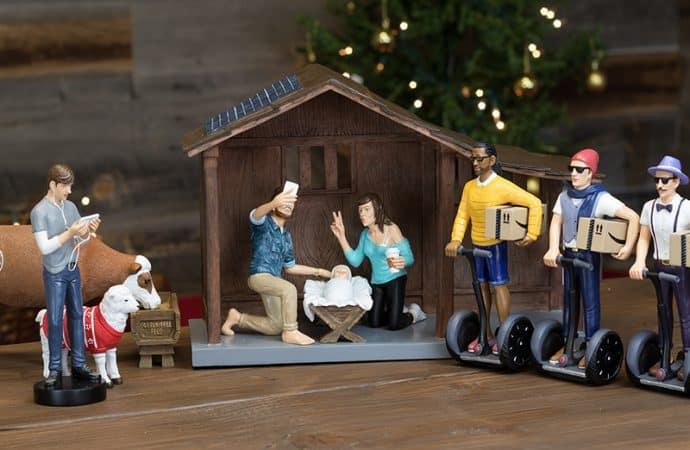 Featured image for 'Hipster' Nativity Scene Causes A Social Media Uproar