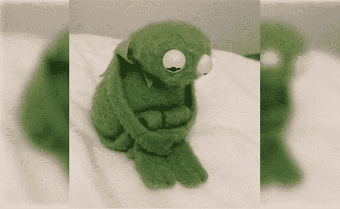 Featured image for Sad Kermit Meme Is All Of Us in 2016