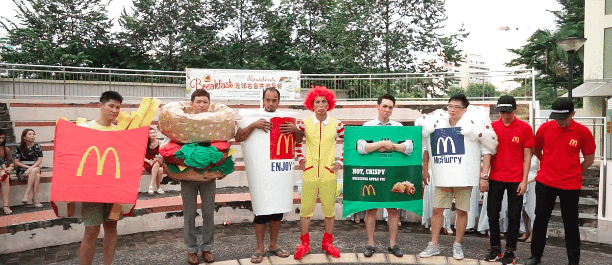 Featured image for Groomsman Dress Up As McDonald's Menu Items For An Epic Adventure
