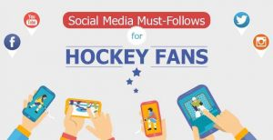 hockey players social media
