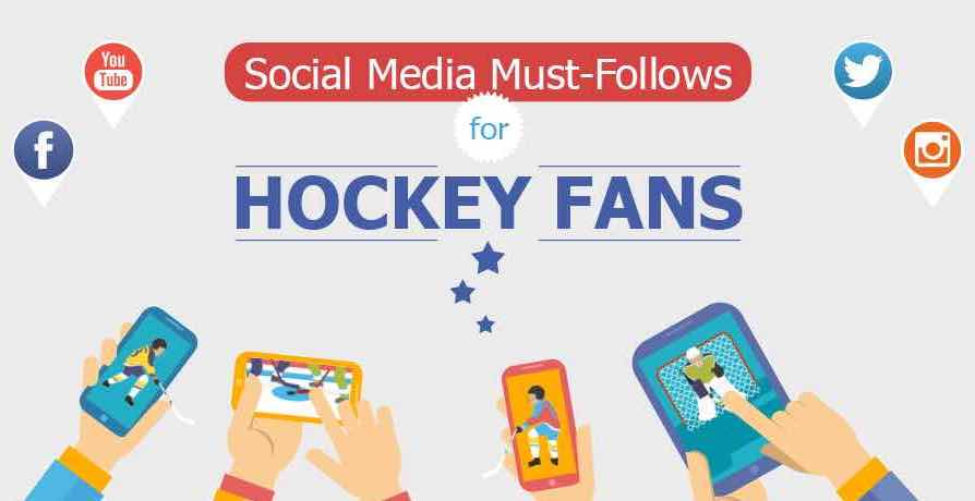 Featured image for Social Media Must-Follows for Hockey Fans [Infographic]