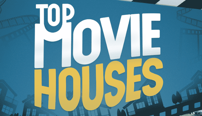 Featured image for The Most Memorable Homes From The Silver Screen [Infographic]