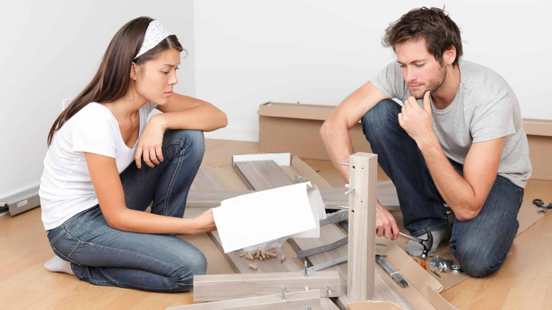 Featured image for How Many Times Have You And Your SO Fought While Building New Furniture?