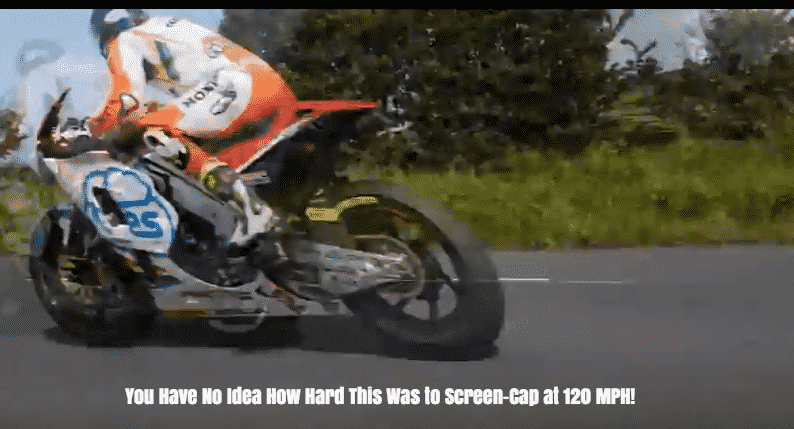 Featured image for Video Captures Man Driving 120 MPH on 'The Isle of Man TT' Motorcycle