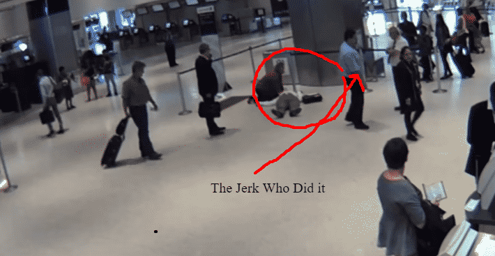 Featured image for Disturbing Video Shows United Employee Throw 71 Year Old Man on Ground