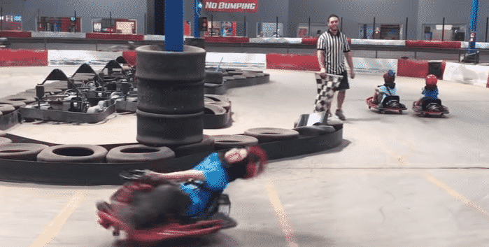 "Featured image for Spinning ""Go Kart Kid"" Becomes Internet Sensation"