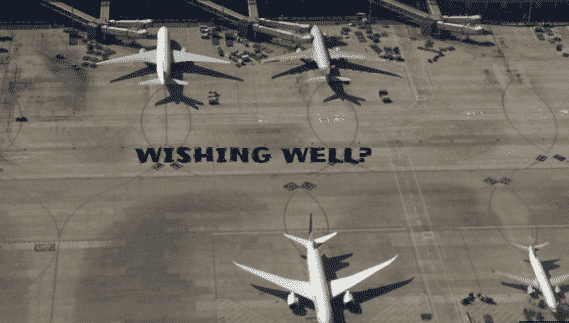 """Featured image for Insane Old Lady Throws Coins In Plane Engine Before Flight for """"Good Luck"""""""