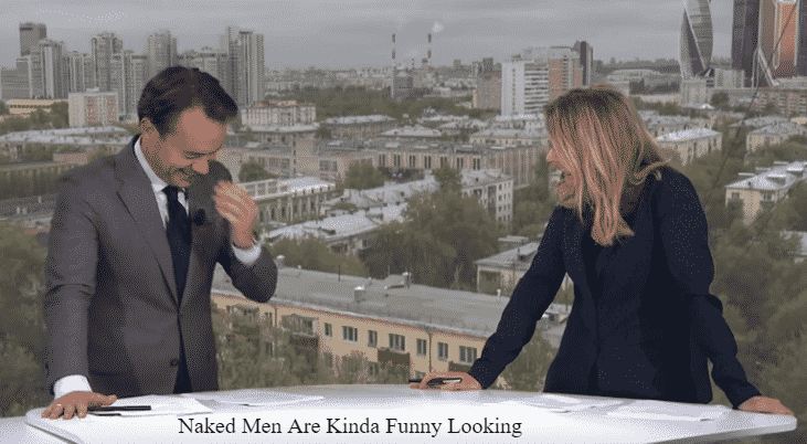Featured image for News Reporter Sees Naked Man And Can't Stop Laughing During Report