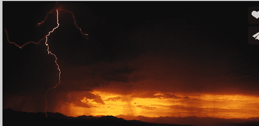 Slow Motion HD Lightning Storm Will Take Your Breath Away