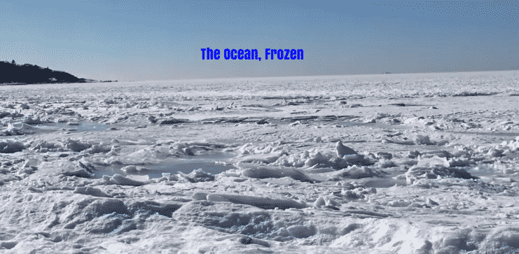 Featured image for Frozen Ocean: How Cold It is In Cape Cod Right Now