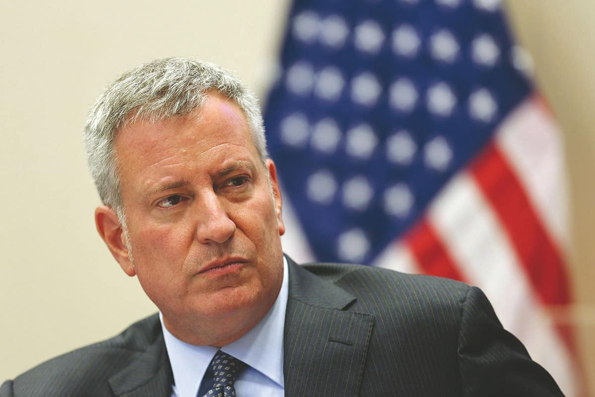 Bill de Blasio - Democrats Incredulous at Donald Trump