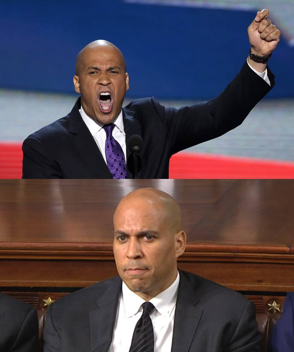 Cory Booker - Democrats Incredulous at Donald Trump