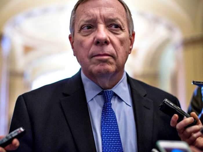 Dick Durbin - Democrats Incredulous at Donald Trump
