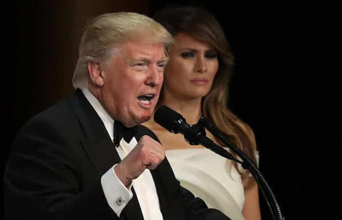 Melania Trump is disgusted by Donald