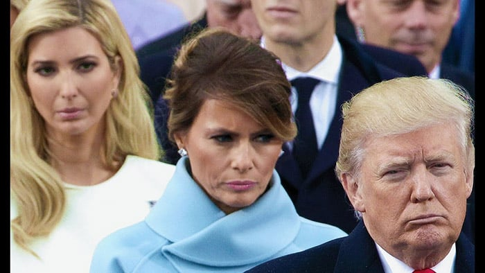 Melania Trump resents Donald's presidency