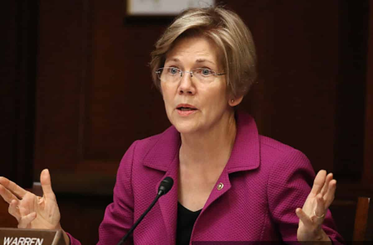 Elizabeth Warren - Democrats Incredulous at Donald Trump