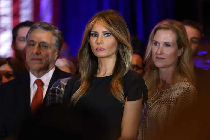 Melania Trump longs for help