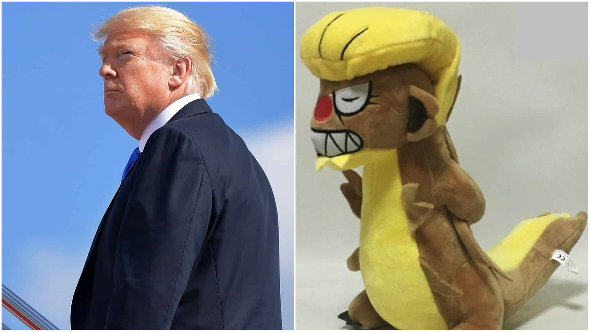 objects that resemble donald trump