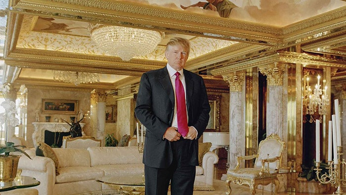 Is Trump Trolling Us? - His all-gold home