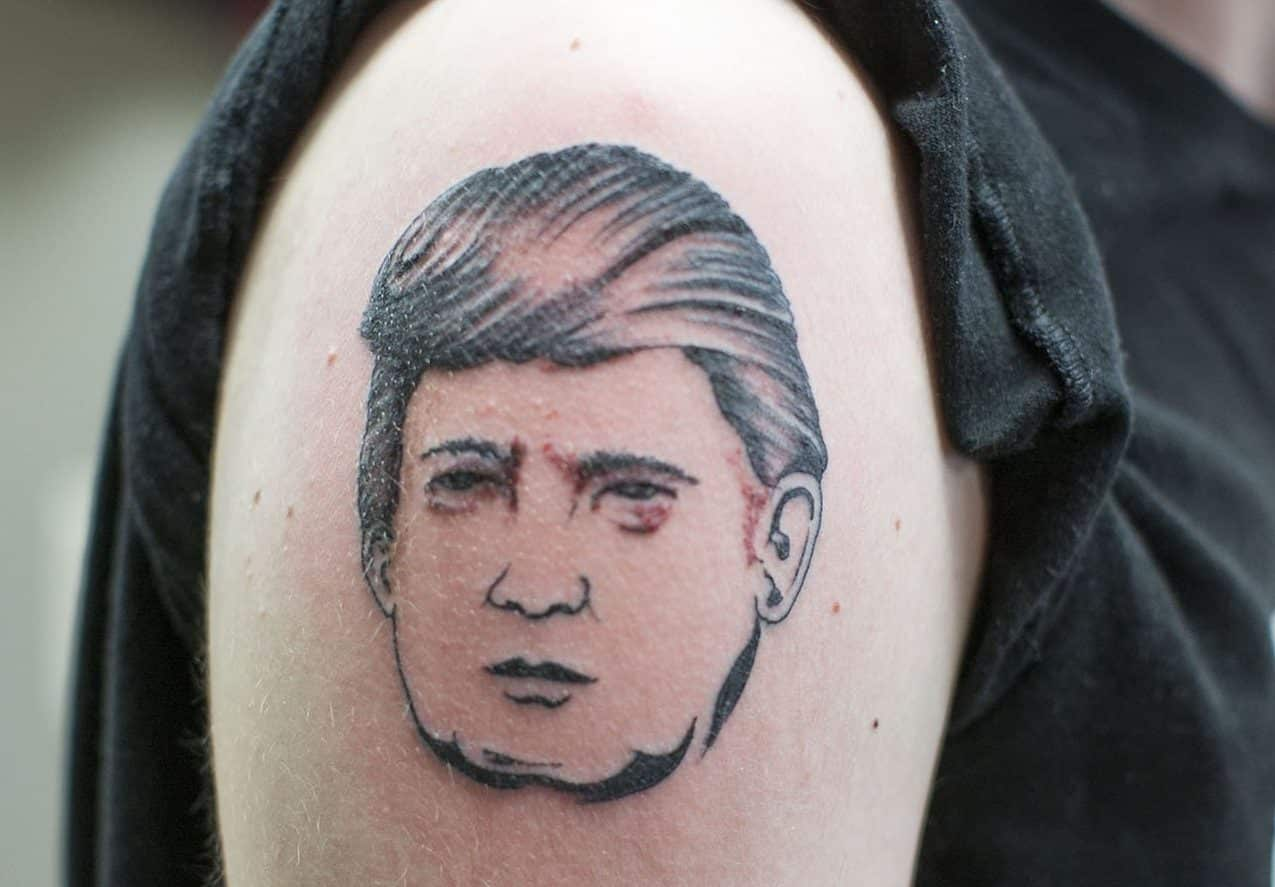 bad trump tattoos