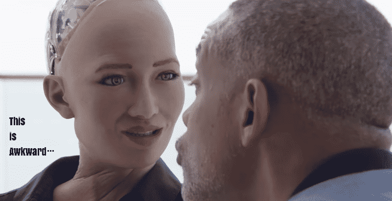 Featured image for Will Smith Takes Sophia, Our Future Robot Overlord, On A Date