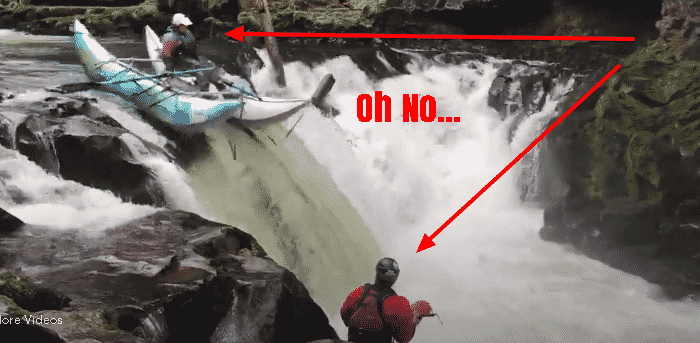 Featured image for This is Why Not Everyone Was Meant to Kayak Over A Waterfall