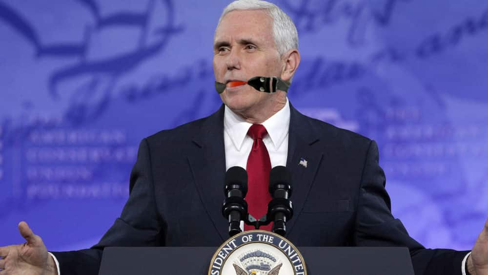 Featured image for Mike Pence Mansplains His Ridiculous Role In Women's Reproductive Rights