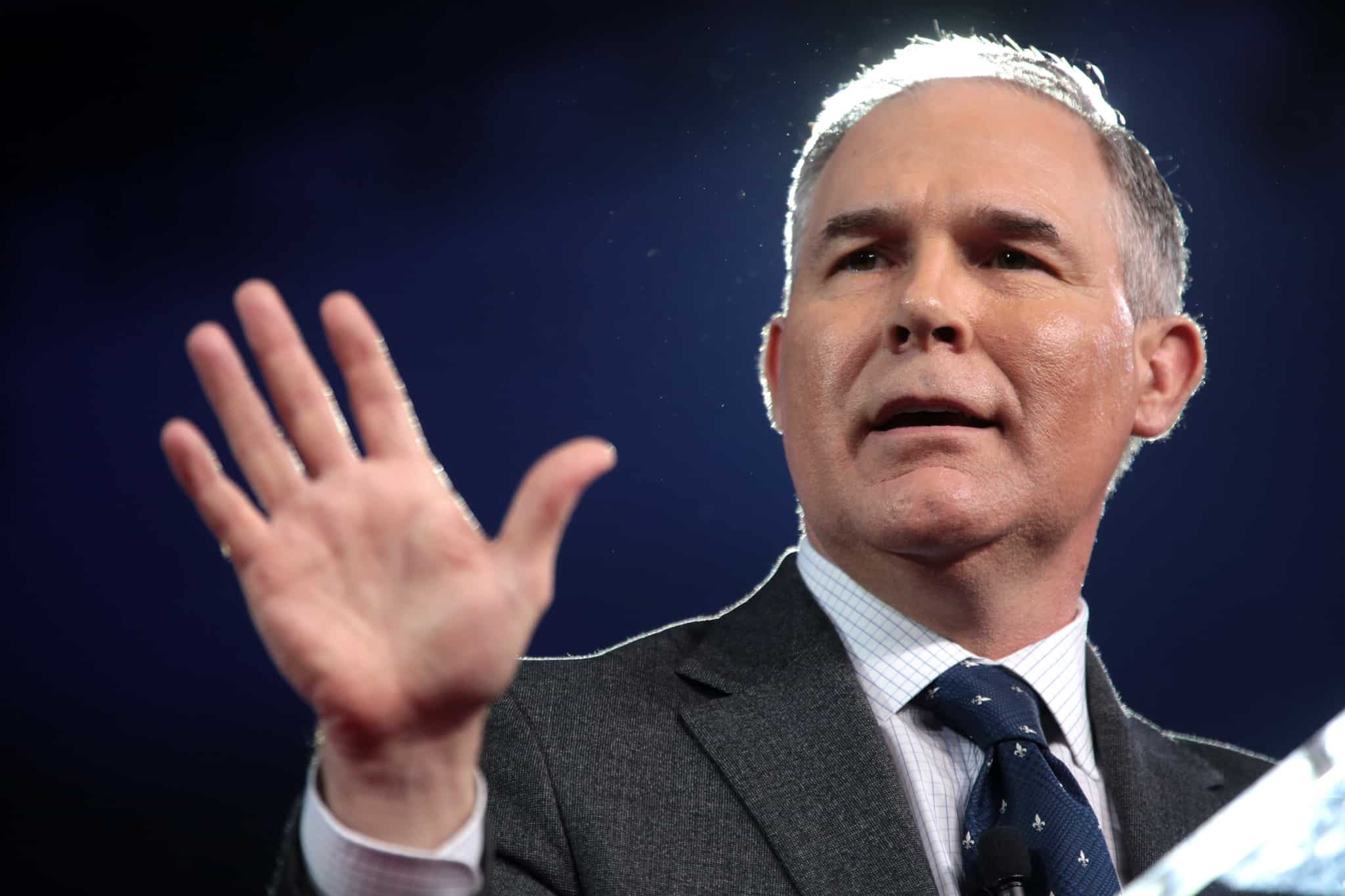 Featured image for Expensive Pen Agency, or Why Does Scott Pruitt Still Have a Job?