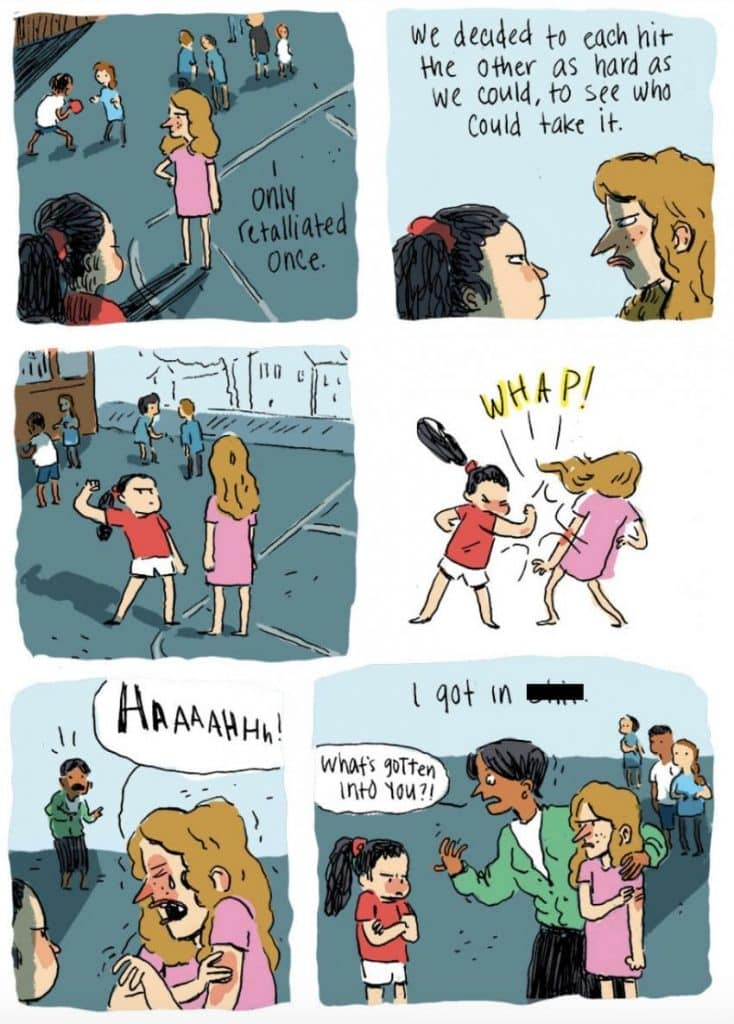 Artist's Comic About Finding Her Bully on FB Will Give You All the Feels