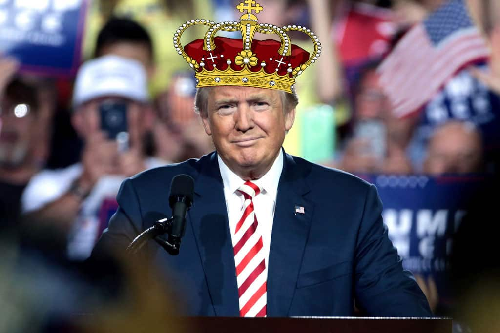 Featured image for King Trump Plans To Get Himself Off If Convicted